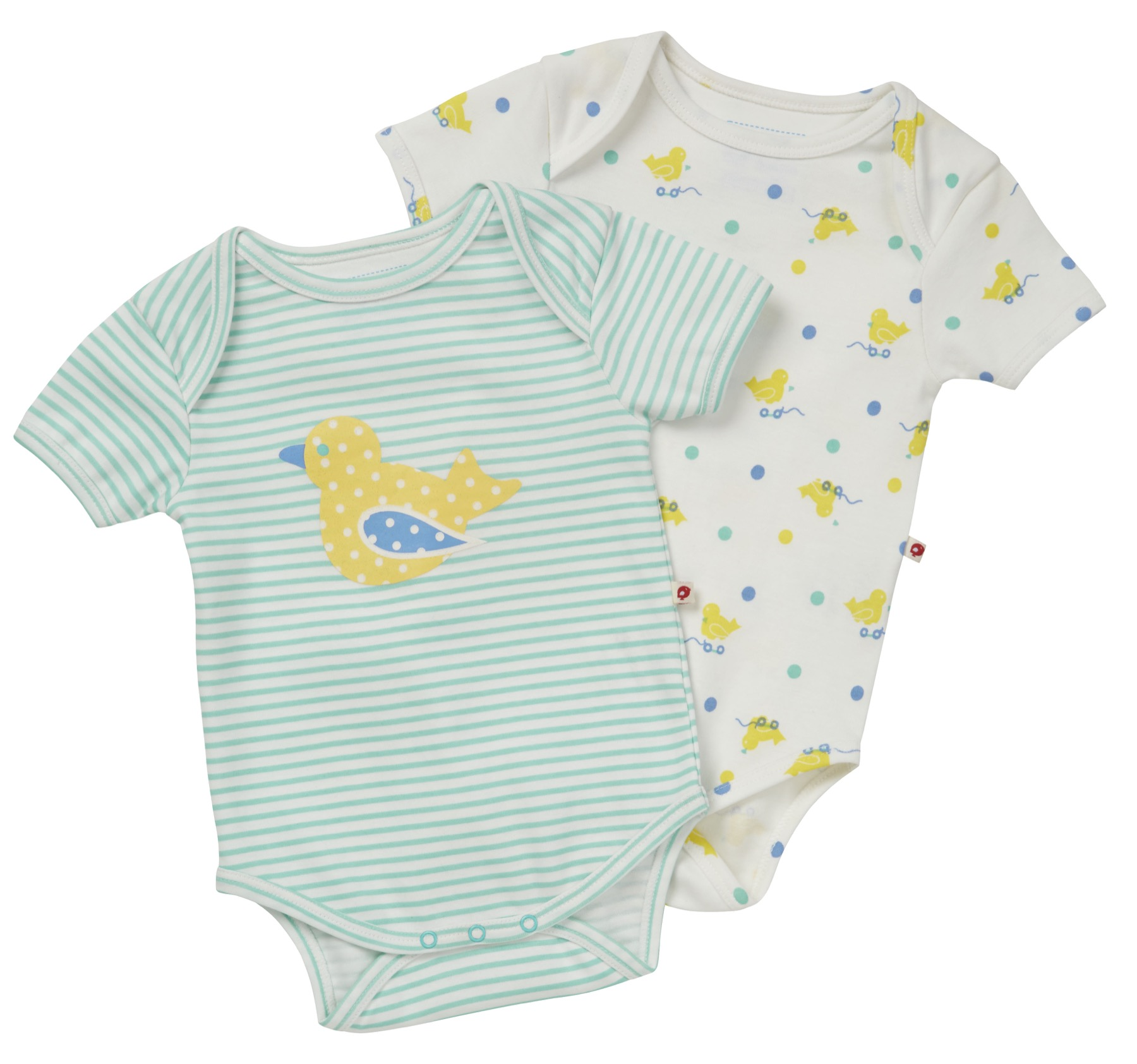 Organic Cotton Babygrows and Bodysuits Piccalilly
