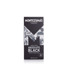 Montezuma's Chocolate - Absolute Black 90g Bar - Plain