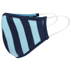 Kids Face Covering - Blue Stripe