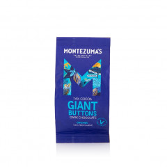 Montezuma's Chocolate - Dark 74% Organic Giant Buttons 180g