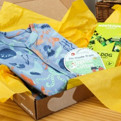 Baby Gift Box - Sleepsuit & Chocolate Bar