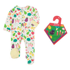 Grow Your Own Sleepsuit & Bandana Bib Set
