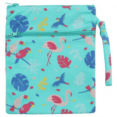 Wet & Dry Zip Bag - Tropical