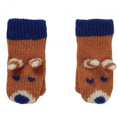 Piccalilly Fox Knit Mittens