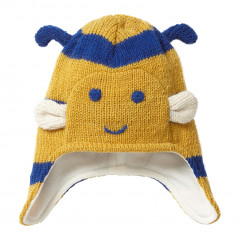 Piccalilly Bumblebee Wool Knit Winter Hat