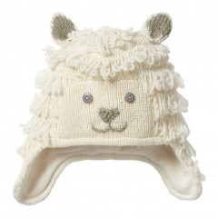 Piccalilly Children's Wool Knit Sheep Hat
