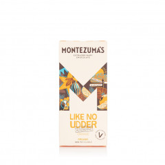 Montezuma's Chocolate - Like No Udder with Orange - Organic 90g Bar