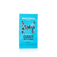 Montezuma's Chocolate - Milk 37% Organic Giant Buttons 180g
