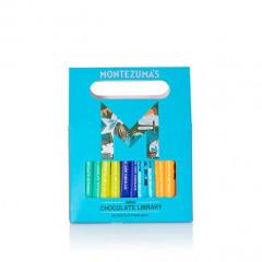 Montezuma's Chocolate - Mini Bar Library 10 x 25g