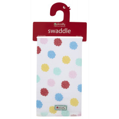 Muslin Swaddle - Nursery Floral