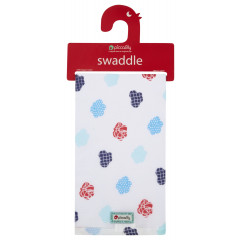 Muslin Swaddle - Steam Train
