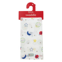 Muslin Swaddle - Stars & Planets