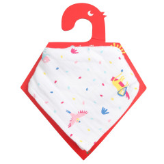 2-in-1 Muslin Bandana Bib & Burp Cloth - Rainforest
