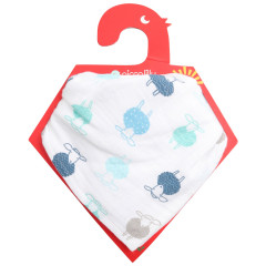 Muslin Bandana Bib & Burp Cloth - Sheep
