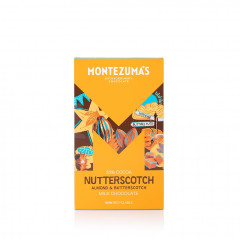 Montezuma's Chocolate - Nutterscotch 300g Bar