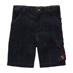 Piccalilly Organic Cotton Denim Shorts