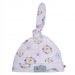Piccalilly Organic CottonNursery Floral Baby Knot Hat