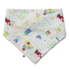 Piccalilly Reversible Muslin Bib & Burp Cloth