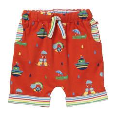 Red Rainbow Ark Baby Shorts
