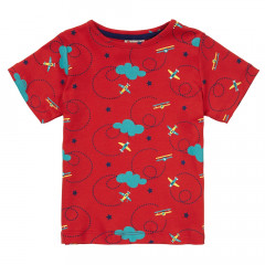 Piccalilly Unisex Red Children's T-Shirt