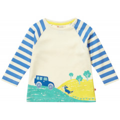 Piccalilly Kids Long Sleeve Farm Raglan Top