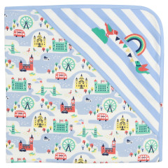 Piccalilly London Design Baby Blanket