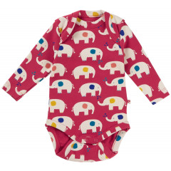 Piccalilly Red Baby Bodysuit