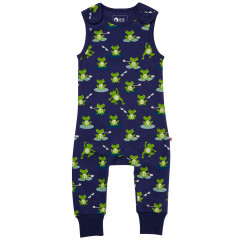 Piccalilly Jersey Frog Dungarees