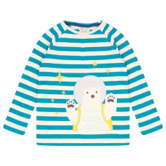 Piccalilly Polar Bear Kids Top