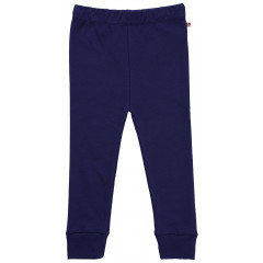Piccalilly Navy Blue Kids Leggings