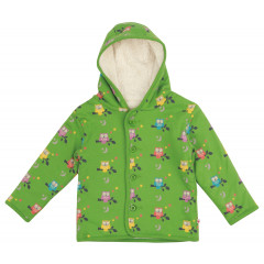 Piccalilly Green Hooded Kids Jacket