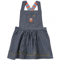 Piccalilly Girls Denim Blue Chambray Dress