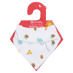 Piccalilly Muslin Bib & Burp Cloth