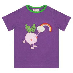 Piccalilly Purple Kids T-Shirt