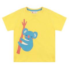 Piccalilly Yellow Koala T-Shirt