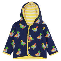 Piccalilly Reversible Duck Print Jacket for Kids