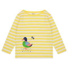 Kids Stripe Top - Duck