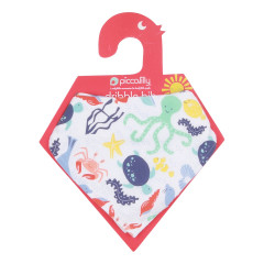 Piccalilly Muslin Bib + Burp Cloth
