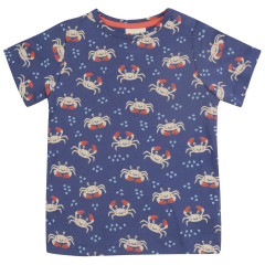 All Over Print T-Shirt - Ocean Crab