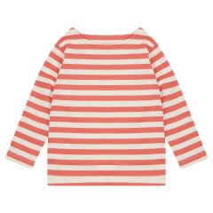 Stripe Top - Spicy Orange