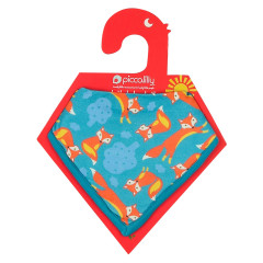 Piccalilly Fox Bandana Bib