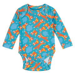 Piccalilly Fox Baby Bodysuit