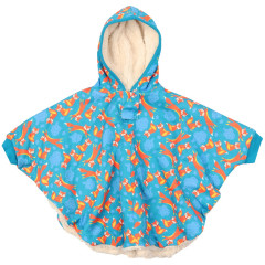 Piccalilly Fox Kids Poncho