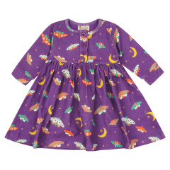 Piccalilly Moonlight Moth Dress for Kids