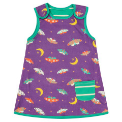 Piccalilly moonlight Moth Reversible Dress for Girls