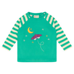 Piccalilly Starry Night Raglan Top for kids