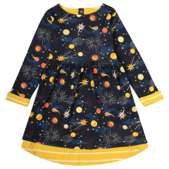 Piccalilly Solar Space Dress for Girls
