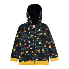 Piccalilly Solar Space Hooded Jacket for Kids