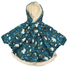 Piccalilly Arctic Poncho for Kids