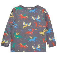 Piccalilly Mythical Creature Top for Kids